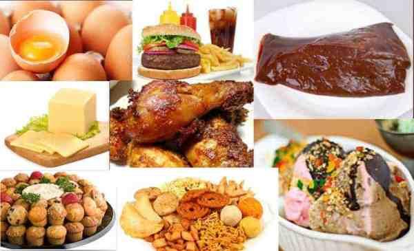 jenis makanan kolesterol, kategori makanan, bahaya makanan kolesterol, beli makanan, awas kolesteorl, tips kolesterol