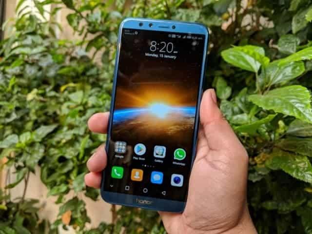 layar honor smartphone, ukuran layar honor 9 lite, tampilan honor 9 lite
