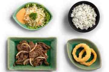 Beef Teriyaki, makan masakan jepang, makan di ichiban sushi