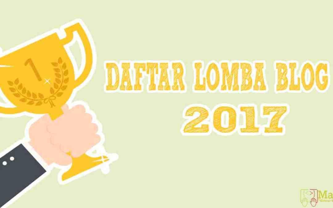 Daftar Lomba Blog Juni 2017