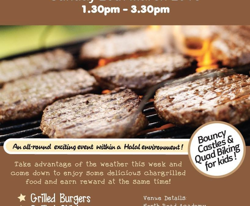 SUNNY SUNDAY BARBECUE FUNDRAISER! | EXCLUSIVE BROTHERS EVENT! | SUNDAY 20TH MARCH 2016