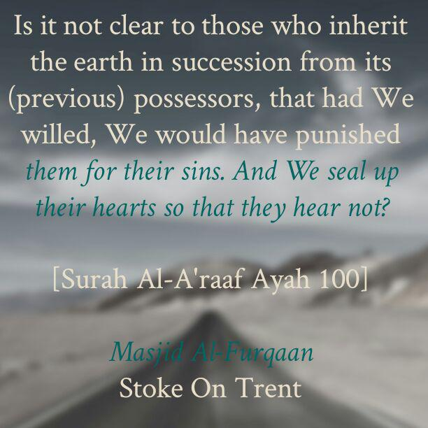 Allaah Reminds The Nations About The Fate of Their Forefathers!