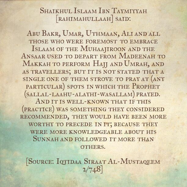 One Can Never Follow The Example of Prophet More Than The Sahaabah, So Why Not Suffice With What Sufficed Them?!