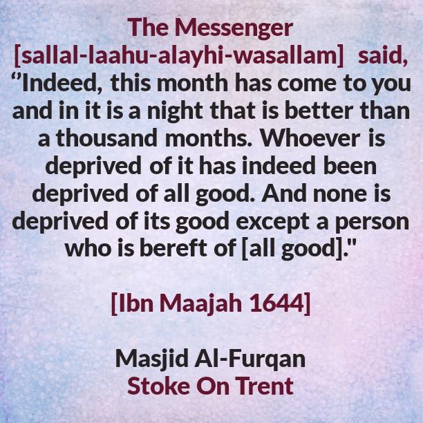 Laylatul Qadr- [Only a Person Bereft of all Good Misses Its Reward]
