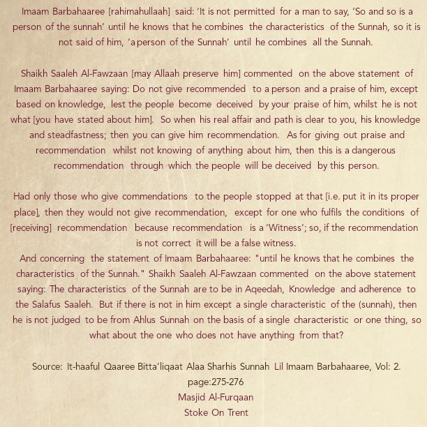 A Warning to Those Who Deliberately Give False Recommendations and Those Who Give It Without Insight
