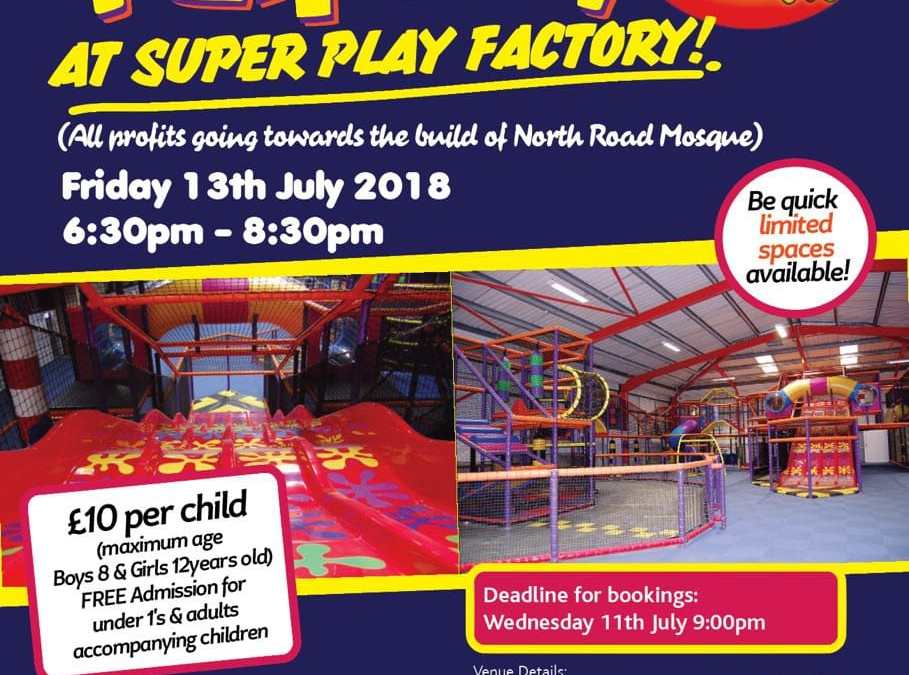EXCLUSIVE SISTERS & TODDLERS EVENT | SUPER FUN DAY AT THE SUPER PLAY FACTORY | FRI 13TH JULY 2018