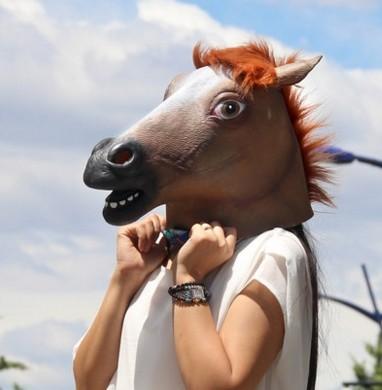 Маска лошади коня качественная