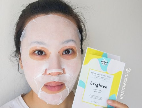Peach Slices Brighten Mask