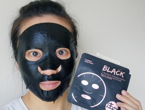 Timeless Truth Radiant Transformation Black Charcoal Mask