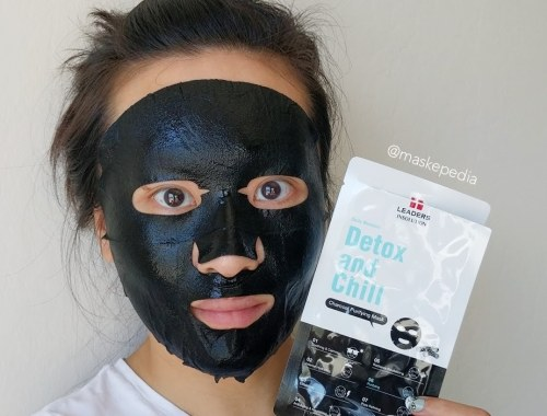 Leaders Daily Wonders Detox and Chill Charcoal Purifying Mask
