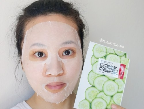 Manefit Cucumber Soothing + Moisturizing Mask