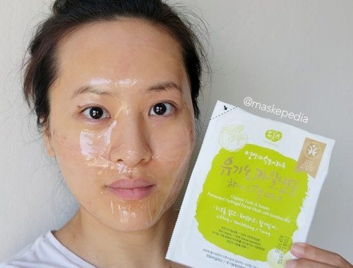 Whamisa Organic Fruits & Tomato Fermented Hydrogel Sheet Mask