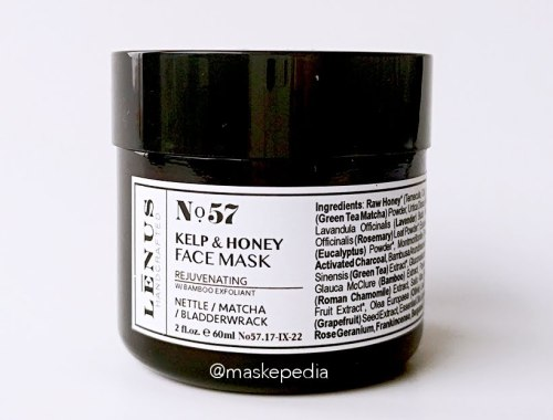 Lenus No. 57 Honey Kelp Face Mask (Rejuvenating)