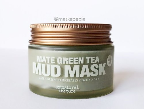 So Natural Mate Green Tea Mud Mask