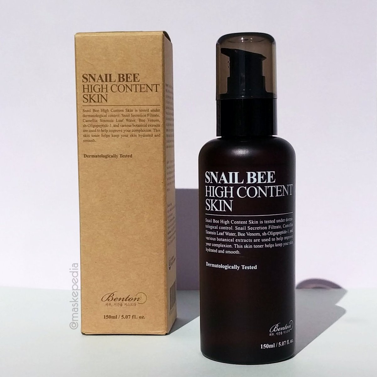 Review: Benton Snail Bee High Content Skin  ☆ | Maskepedia