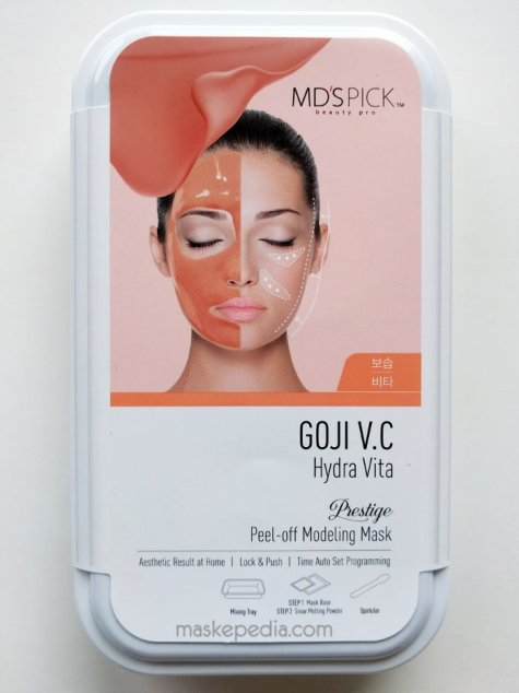 MD's Pick Goji Water Rubber Mask