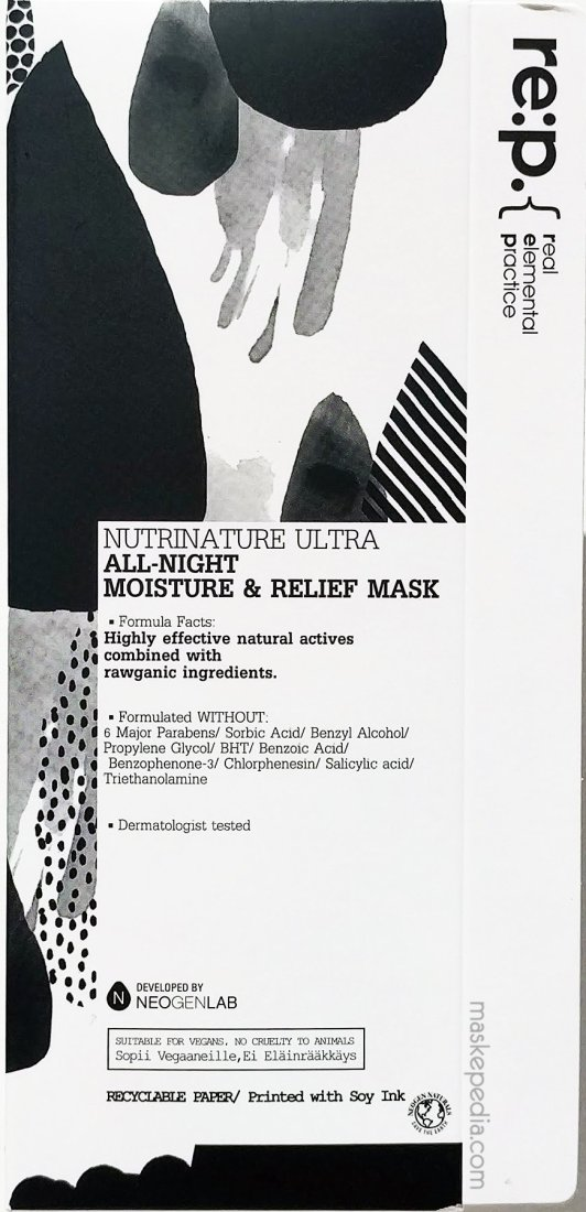 RE:P Nutrinature Ultra All-Night Moisture & Relief Mask