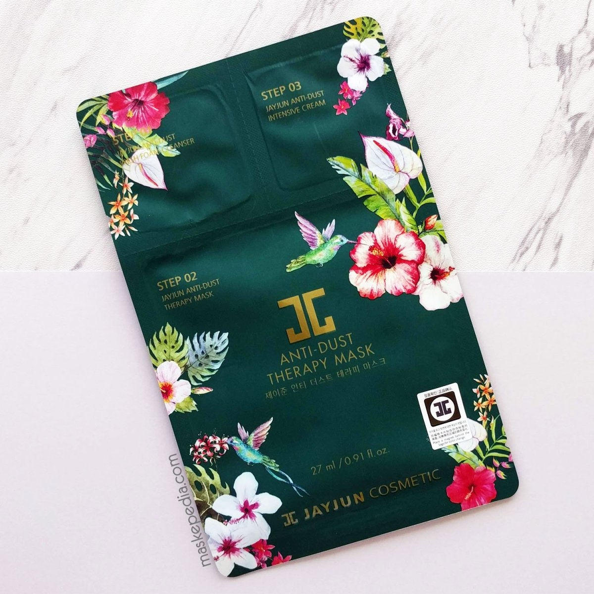 Review: Jayjun Anti-Dust Therapy Mask ★★★★★