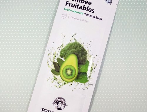 Papa Recipe Bombee Fruitables Green Squeeze Relaxing Mask