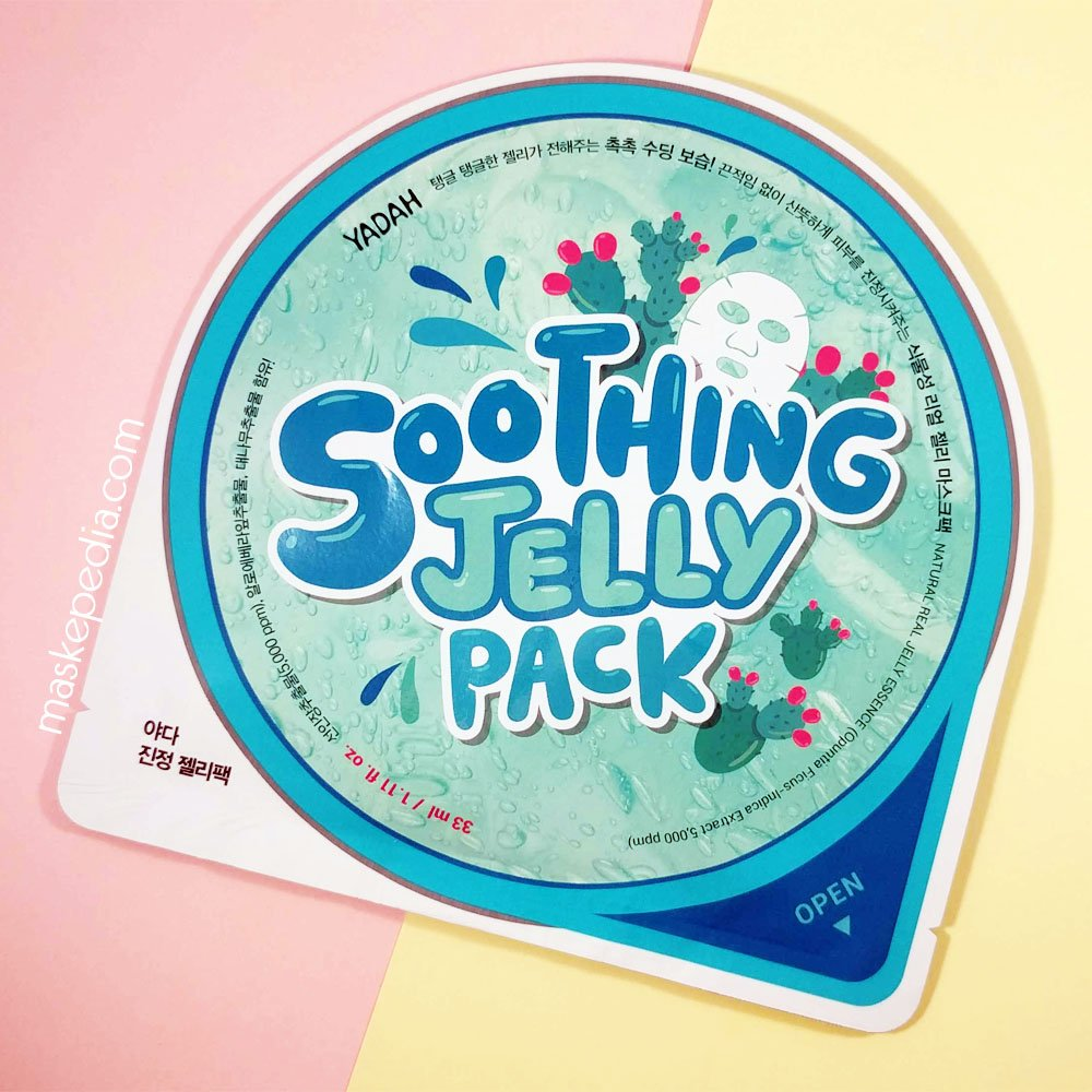 Yadah Soothing Jelly Pack