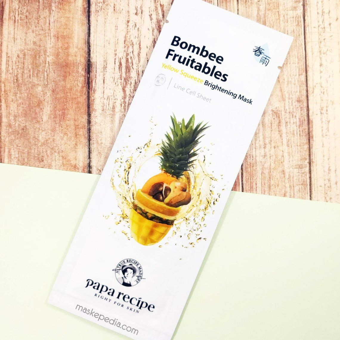 Papa Recipe Bombee Fruitables Yellow Squeeze Brightening Mask