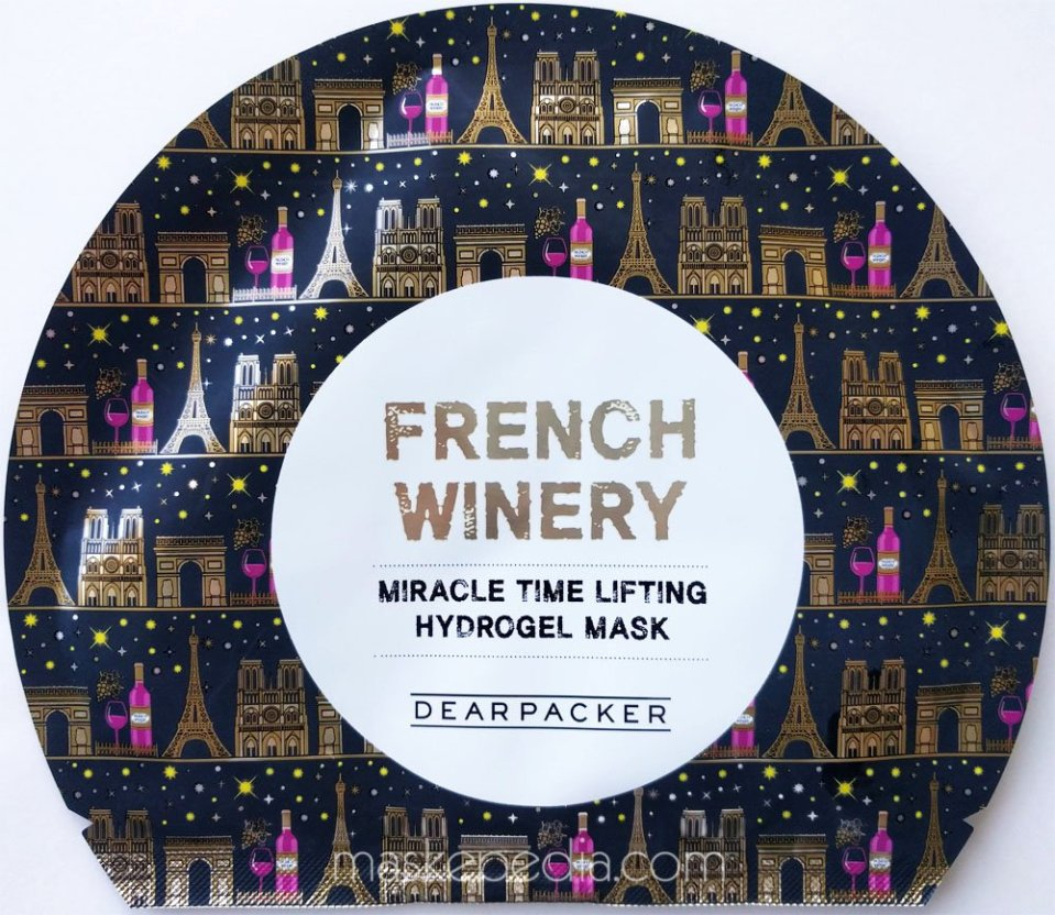 Dearpacker French Winery Miracle Time Lifting Hydrogel Mask