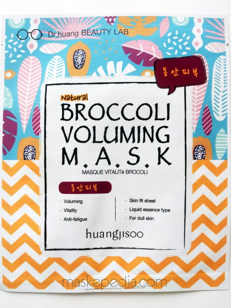 Huangjisoo Broccoli Voluming Mask