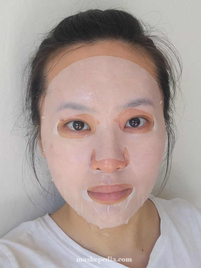 Klavuu White Pearlsation Serum Mask