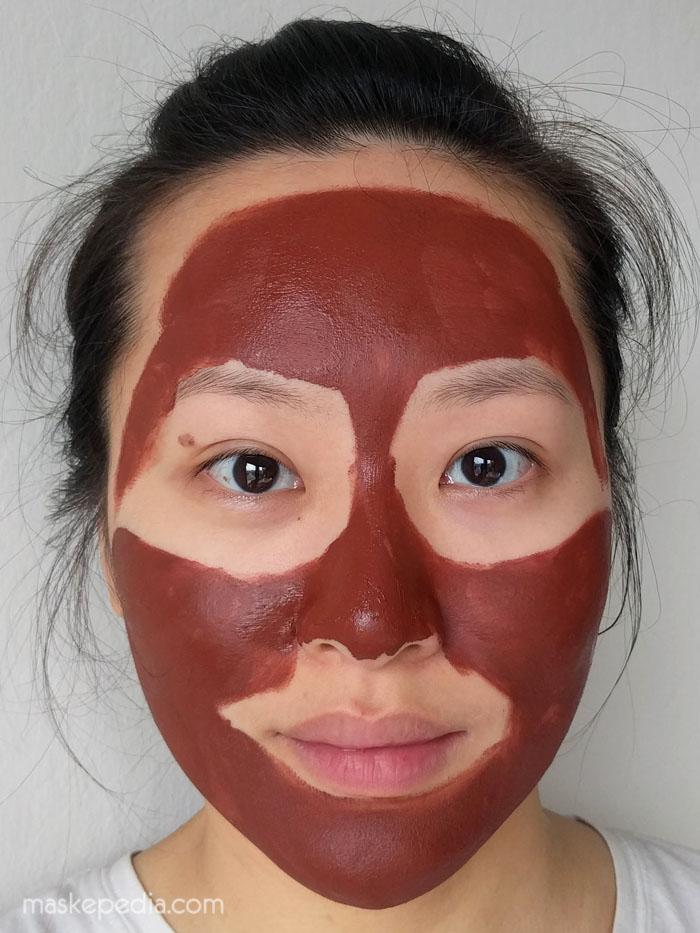 Asarai Earth Tones Australian Red Clay mask