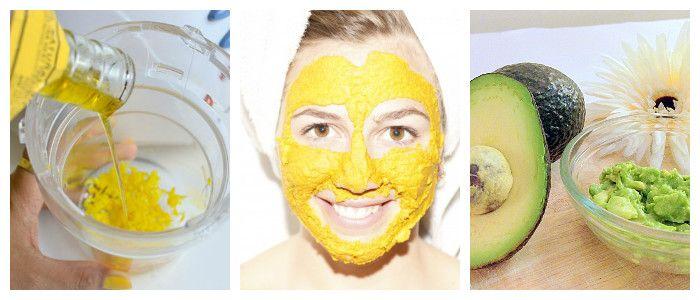 натуральные питательные маски для лица