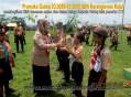 SDN Karanglewas Kidul membagi bibit tanaman pada acara Jambore LT II Kwartir Ranting Kecamatan Karanglewas 2015 (5)