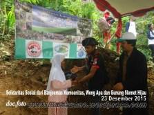 Solidaritas Sosial Berbagi Peduli bersama Banjoemas Komounita-Gunung Slamet Hijau Desa Baseh dan Wong APA (2)