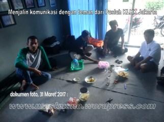 komunikasi masyarakat desa hutan, PKSM, pak Victor (PUSLUH) KLKH (1)