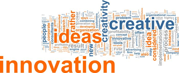 Innovation requires inspiration and collaboration