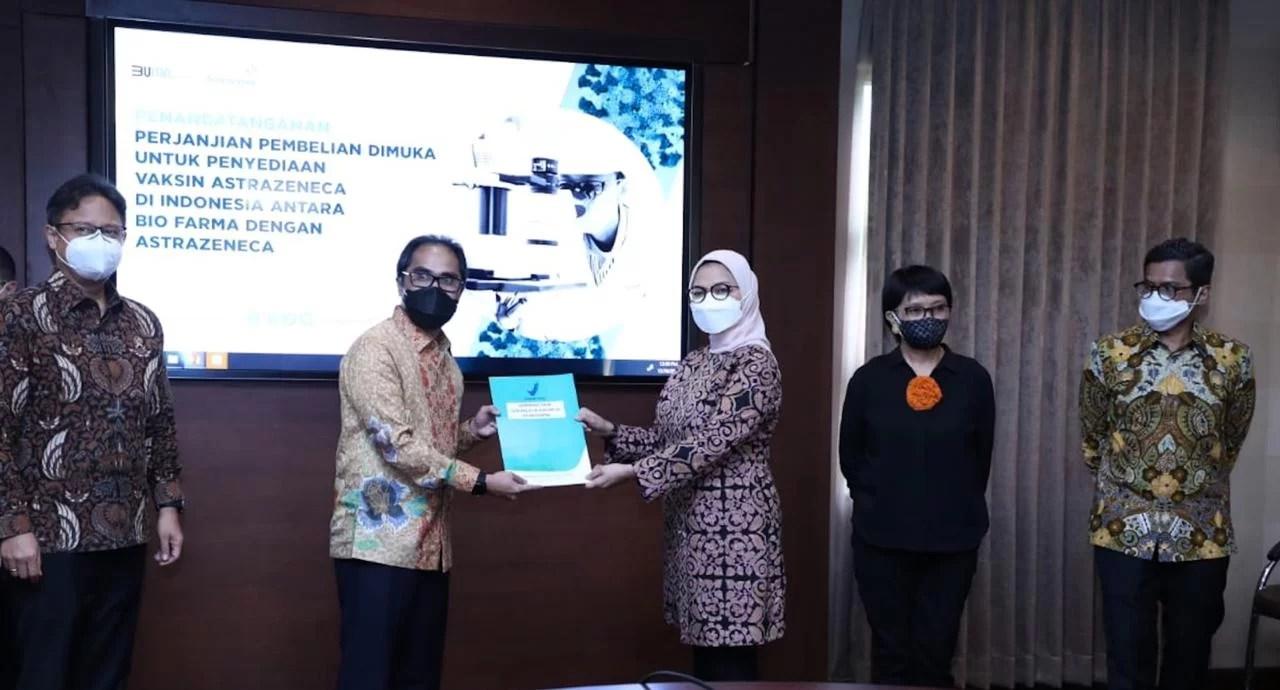 Holding BUMN Farmasi Tandatangani Kerjasama dengan Novavax dan AstraZeneca, Amankan Pasokan Vaksin COVID-19 untuk Indonesia