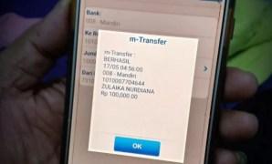 Bukti transfer m banking BCA