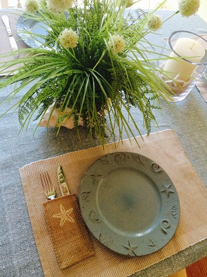 Coastal Dining Room table