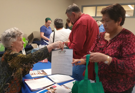 SMP Team Member helps prevent Medicare errors, fraud and abuse at the Somerville Senior Center