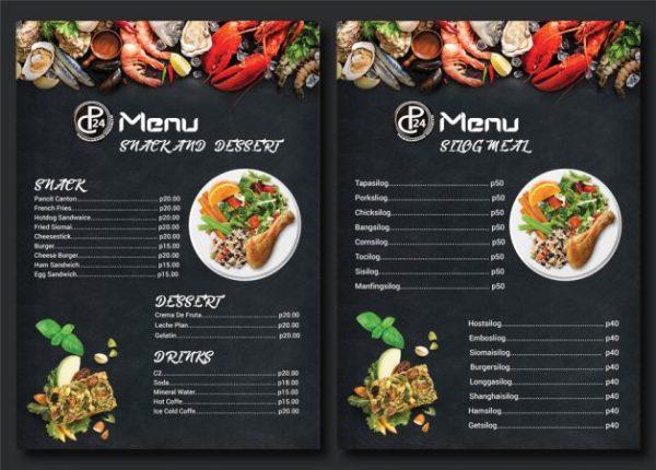brosur rumah makan