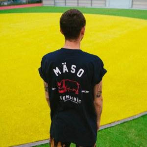 Athletics tmavo modré tričko