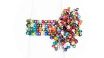 Guate!Guate Multi Pyro™ multicolour ring MoM12-MU, Guatemala, konsthantverk, mångfärgad, regnbåge, smycke