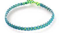 armband, blå, Fair Trade, grön, Guatemala, konsthantverk, metall, Neptunus, planet, Planets, silver, smycke, Wakami