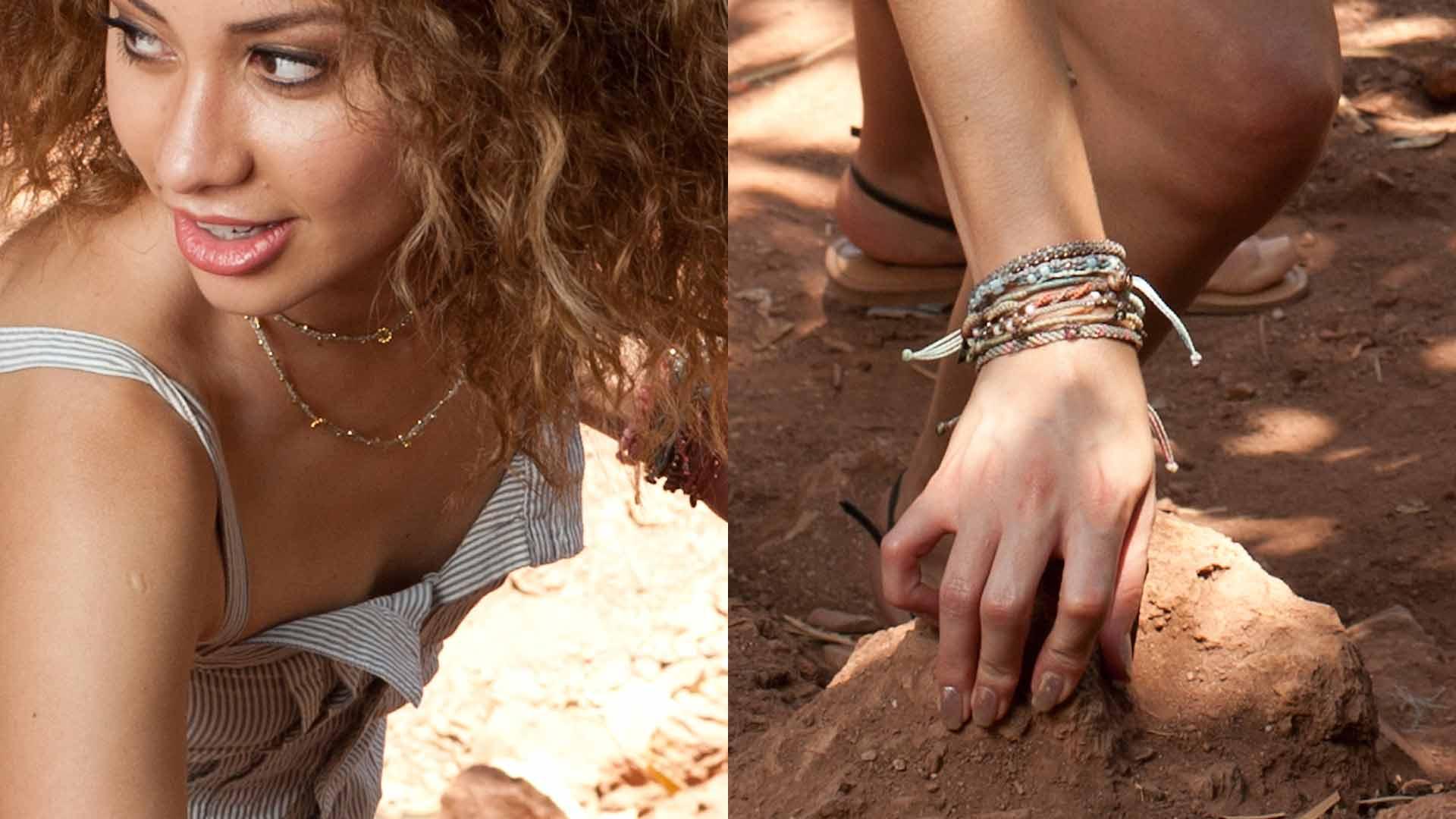 Wakami mix & match armband och halsband
