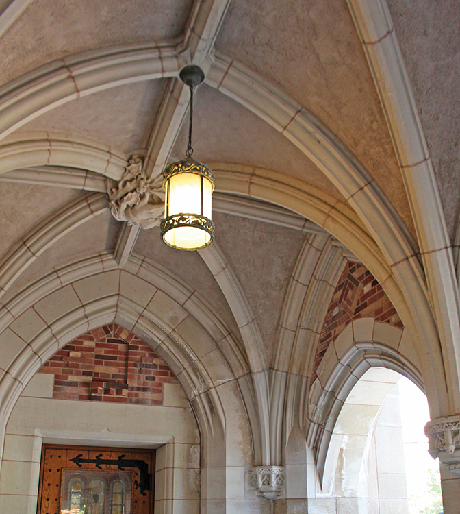 Yale Sterling Law Library custom fabricated limestone restoration