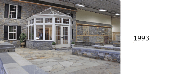 Bridgeport Mason stone and Earth Products Showcase