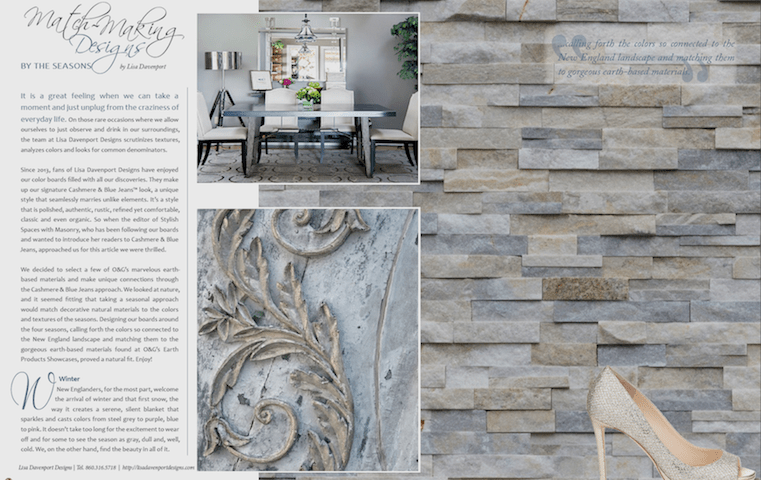Matchmaking Designs - Stylish Spaces with Masonry