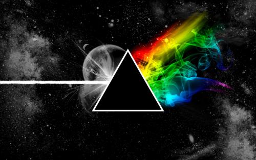 "Imagen del álbum ""The Dark side of the moon"""