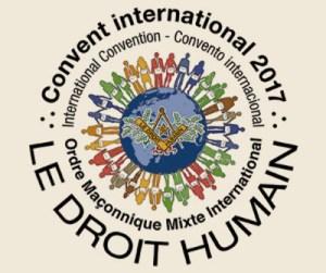 sello del XV Convento Internacional de Le Droit Humain