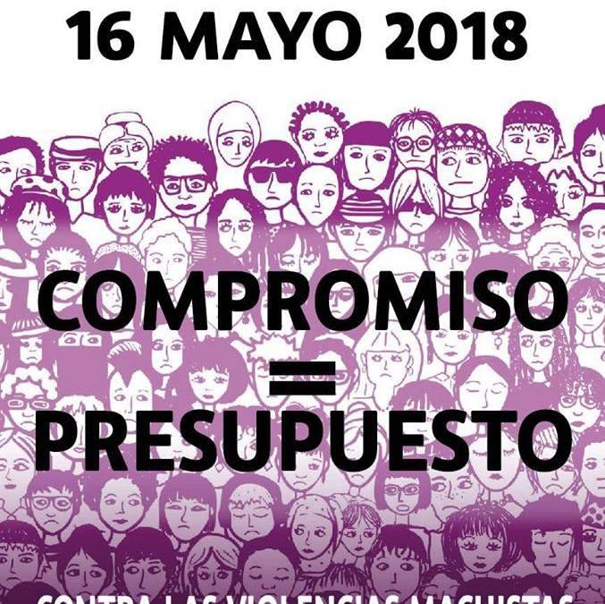 16 de mayo, concentraciones feministas en toda España