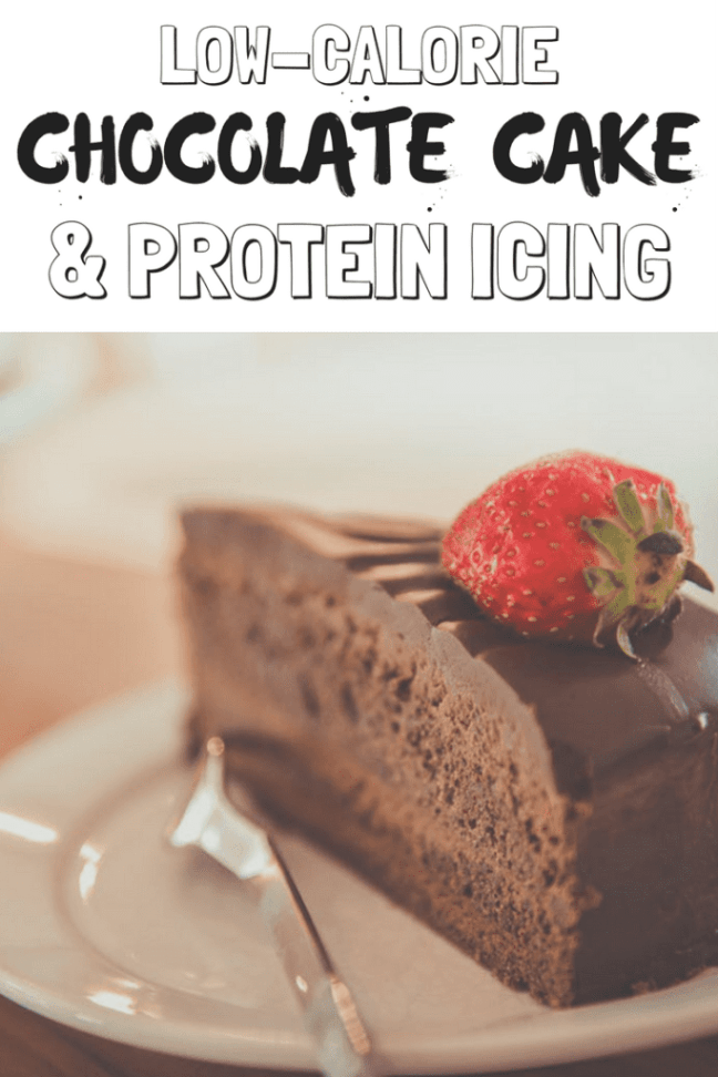 You'll love this chocolate cake recipe that saves over 2,500 calories and adds 4x the protein!